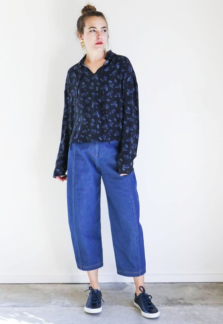 Creatures of Comfort Cresent Pant in Standard Denim