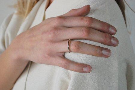 M. Hisae Ageku Ring - Sterling Silver