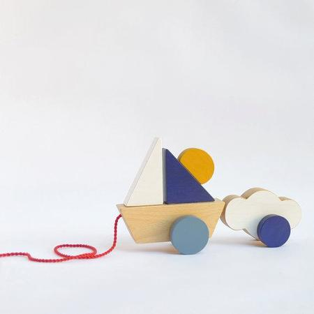 The Wandering Workshop Boat Pull Toy