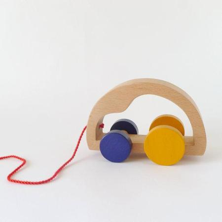 The Wandering Workshop Wooden Toy Car