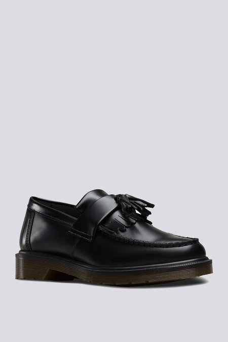 Dr. Martens Smooth Leather Adrian Loafer - Black
