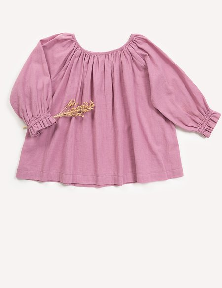 Kids Petits Vilains Clothier Margaux Raglan Tunic - Wild Rose
