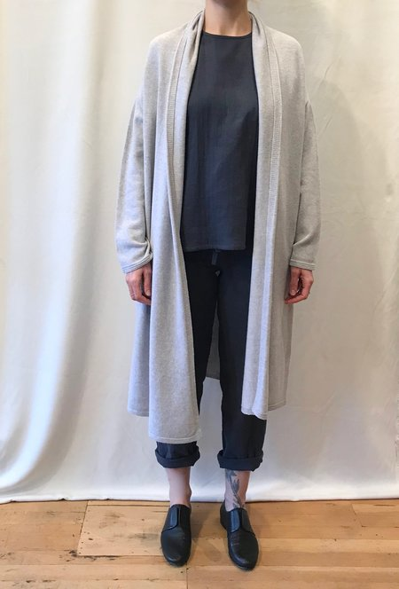 Erdaine Desiree Cardigan in Heather Grey