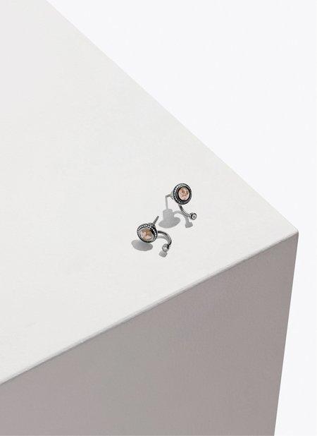 Pamela Love Fine Gravitation Earrings