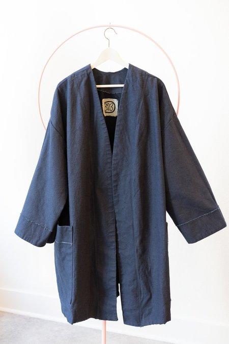 323 Heavy Denim Coat