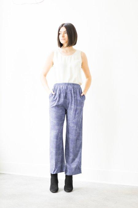 Backtalk PDX Vintage Elastic Waist Pants - Purple