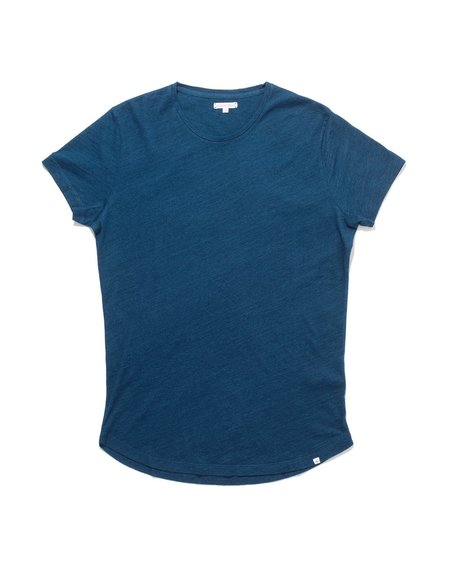 Orlebar Brown Tommy Crew Neck Tee - Denim Pigment