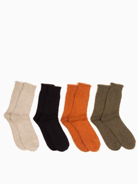 MAPLE Mohair Knit Sock 4-Pack
